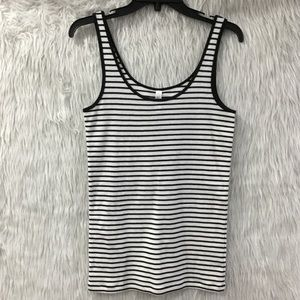 Victoria's Secret tee top summer stripe top